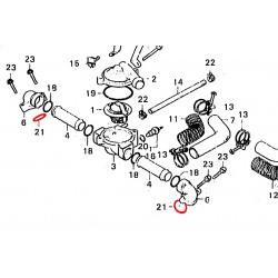 Pompe a eau / Fourche - Joint torique - (X1) - 23x2.80 mm
