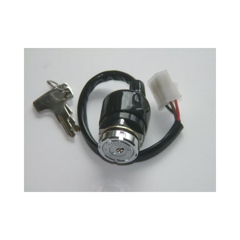 Contacteur a clef - Prise ronde - Neiman - CB750Four