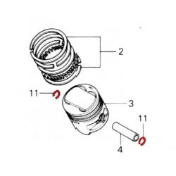 Moteur - Circlips - axe de piston