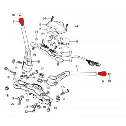Guidon - embout, contre poids - CB750/CB900/CB1100 - non livrable
