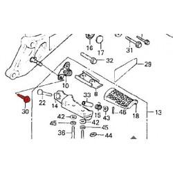 Cale Pied - Avant - Vis de fixation - M8 x26mm - (x1)