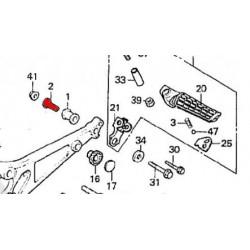 Cale Pied - Arriere - Entretoise de Silent-Bloc - (x1)