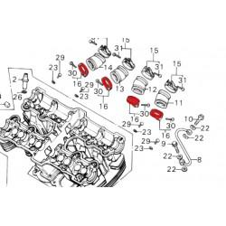 Pipe admission - Collier cote moteur - (x1+vis) - CB750-CB900-CB1100