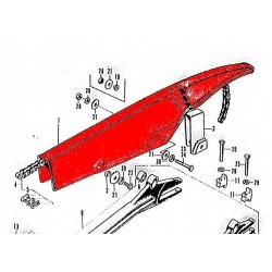 Transmission - Carter de Chaine - Noir  - CB750K0-K6