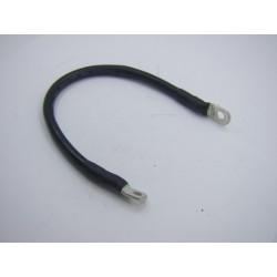 Batterie - Cable Noir de masse - long 330mm