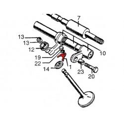 Moteur - soupape - arret guide - CB450K - CB500T