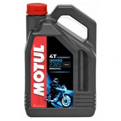 Moteur - Huile - MOTUL -  Mineral 20W50 - 4 Litre